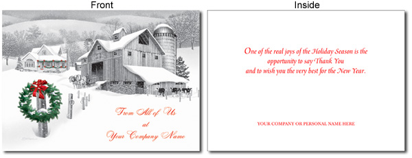 ORDER YOUR HOLIDAY CARDS ONLINE - we make it easy!