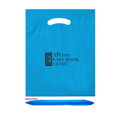 "OXO Reusable Die Cut Fold-Over Reinforced Bag (15""x18""x3"") - Flexo Ink"