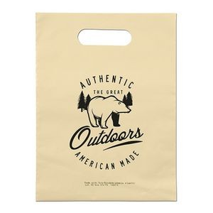 Oxo-Biodegradable Die Cut Bag (9