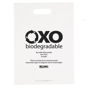 Oxo-Biodegradable Die Cut Bag (11