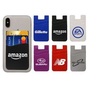 Stylish Dual Pocket Mobile Cell Phone Wallet - $0.95
