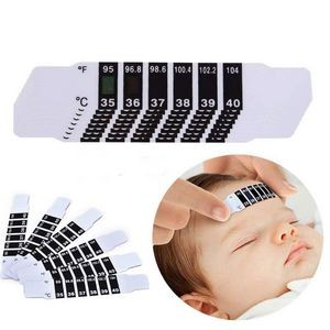 Instant Read Forehead Feverscan Temperature Thermometer Strips