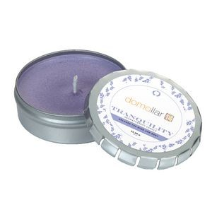 Aromatherapy Candle in Large Push Tin