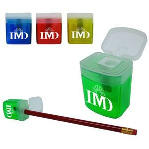 Mini Pencil Sharpener w/ Lid