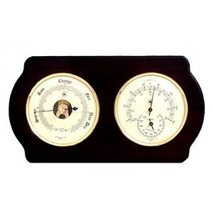 Barometer w/ Thermometer & Hygrometer - Ash