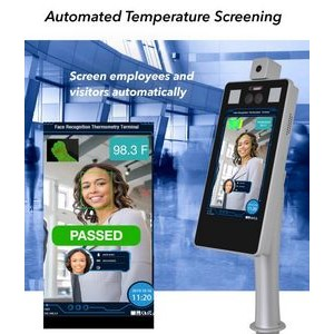 Automated Temperature Screening and Face Recognition Kiosk Automated Temperature Screening kiosk
