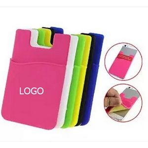 Smart Silicone Cell Phone Wallet Pocket.